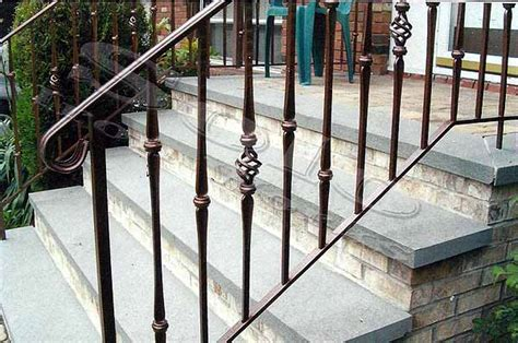 Exceptional Outdoor Metal Stair Railing #3 Outdoor Wrought