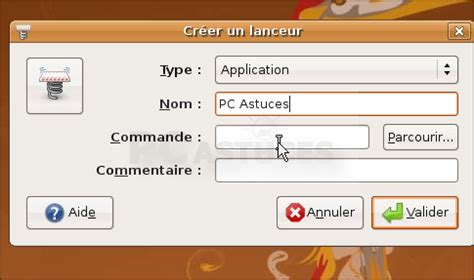 raccourci bureau ubuntu pc astuces crer un raccourci vers une page web linux