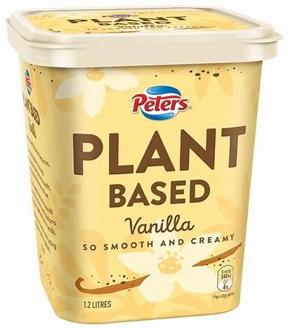 Plant Based Peters Vanilla Cream Ice Tub