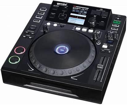 Mp3 Cd Player Gemini Professional Cdj Modern