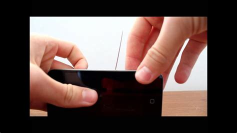 Then you will need a needle to pick the simcard out. How To Remove Sim Card From Iphone 4 - YouTube