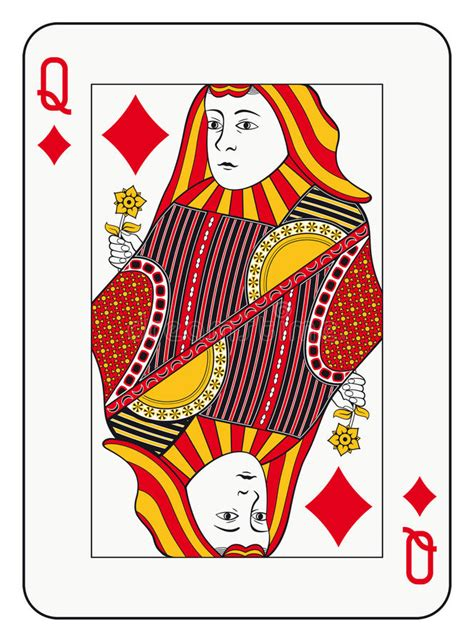 Related Of Queen Hearts Card Template Spades