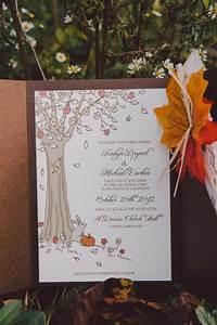 diy fall wedding invitation ideas yaseen for With handmade fall wedding invitations ideas