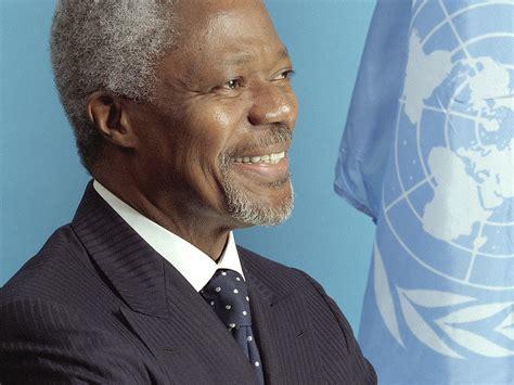 annan kofi hard un secretary died general choices syria peacekeeping sergey npr former
