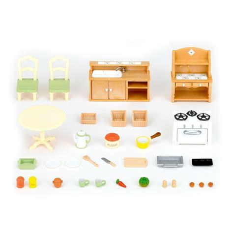 set cuisine set cuisine sylvanian jeux jouets loisirs enfant