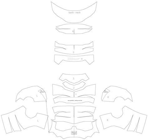 dali lomo antman costume helmet diy cardboard  template