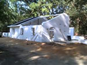Cement Basement Walls by Concrete And Foam Structures House Construction Youtube