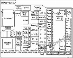 2007 Kenworth T600 Fuse Box Diagram