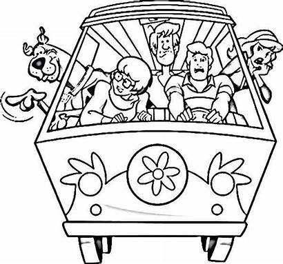 Scooby Doo Coloring Pages Printable Sheets Halloween