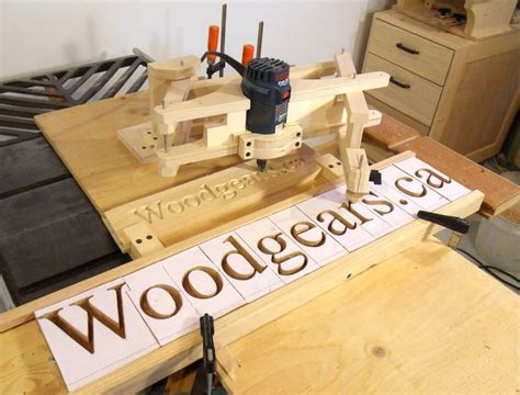 Wood Router Letter Templates by Letter Carving
