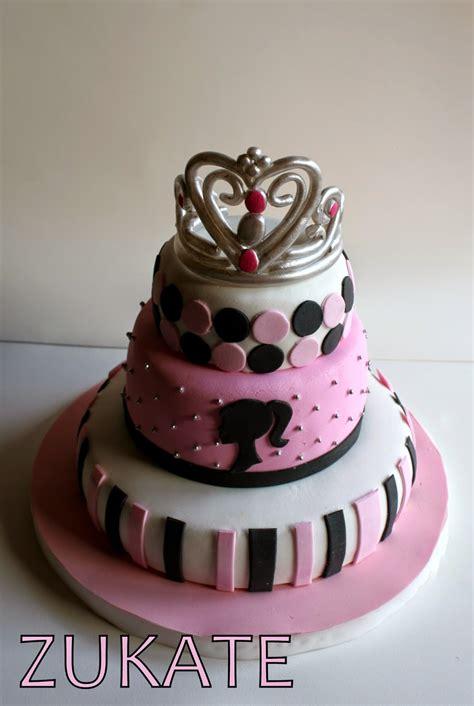 torta de barbie princesa  delfi zukate