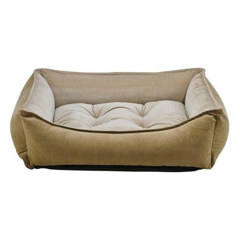 As a bed, it is a small rounded one. Bowsers Gold Series Microvelvet Scoop Dog Bed (With images ...