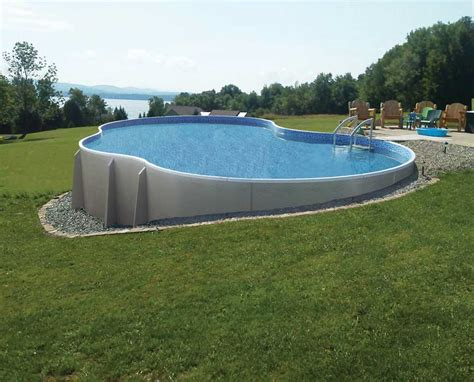 swimming pool landscape designs what you must know about above ground pool ideas