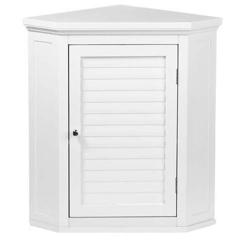 Bathroom Cabinet Doors Home Depot by Corner Bathroom Storage Wall Cabinet Adjustable Shelf
