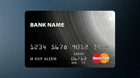 Credit Card Template Psd Freebies Gallery