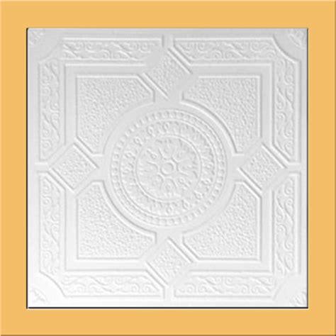 20 quot x20 quot lima white foam ceiling tile antique ceilings