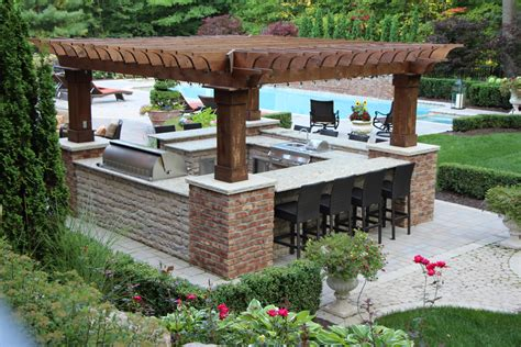kitchen and countertops outdoor kitchens landscapes