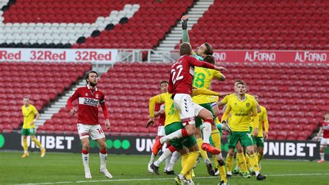HIGHLIGHTS: Boro 0 Norwich City 1   Middlesbrough FC