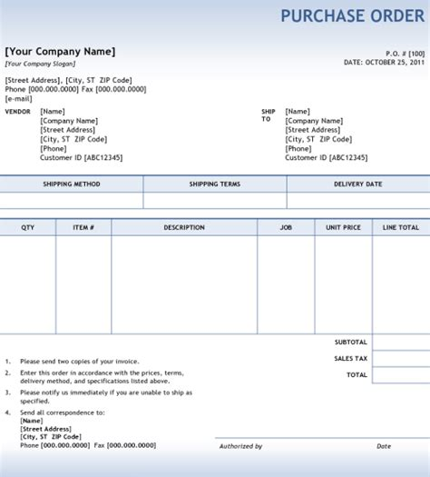discount school supply order form 5 purchase order templates excel pdf formats