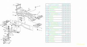 1986 Subaru Dl  Gl  Gl10  Rs  Rx Plate-stabilizer  Suspension  Front  Brakes