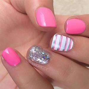 Fifteen Classy Short Nails' Designs 14 - Online Women Magazine