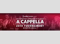 2019 ICCA Northeast Semifinal at Symphony Hall Boston