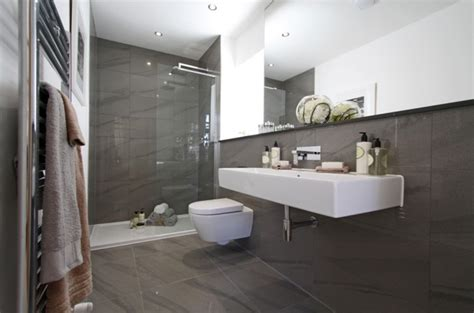 small bathroom tiling ideas contemporary ensuite inspired space the builder 39 s