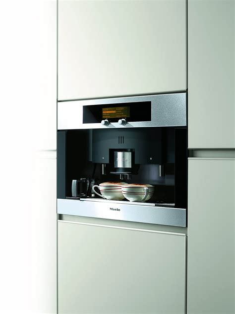 Kitchen Trends .Miele Automatic Coffee Maker   Made By Girl