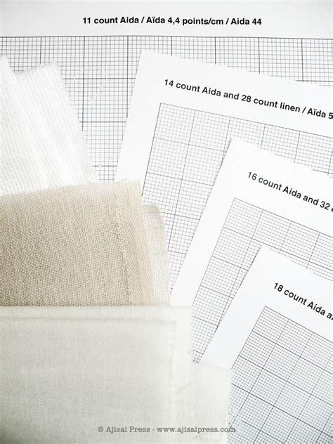 design   cross stitch pattern ajisai press