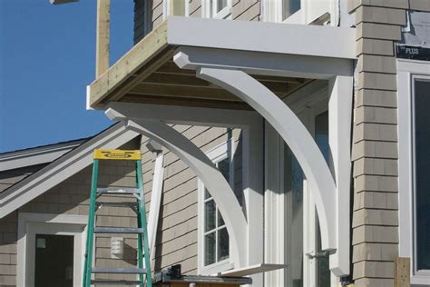 Structural Corbels by Building Structural Brackets For A Balcony Deck Jlc
