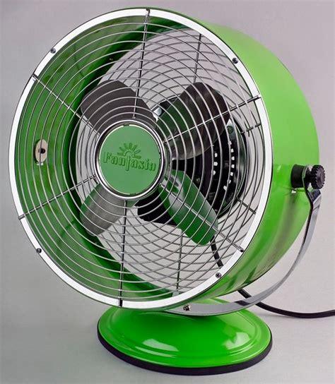 vintage desk fan uk fantasia retro desk fan in lime green modern electric