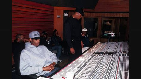 Snoop Dogg and Dr. Dre Studio