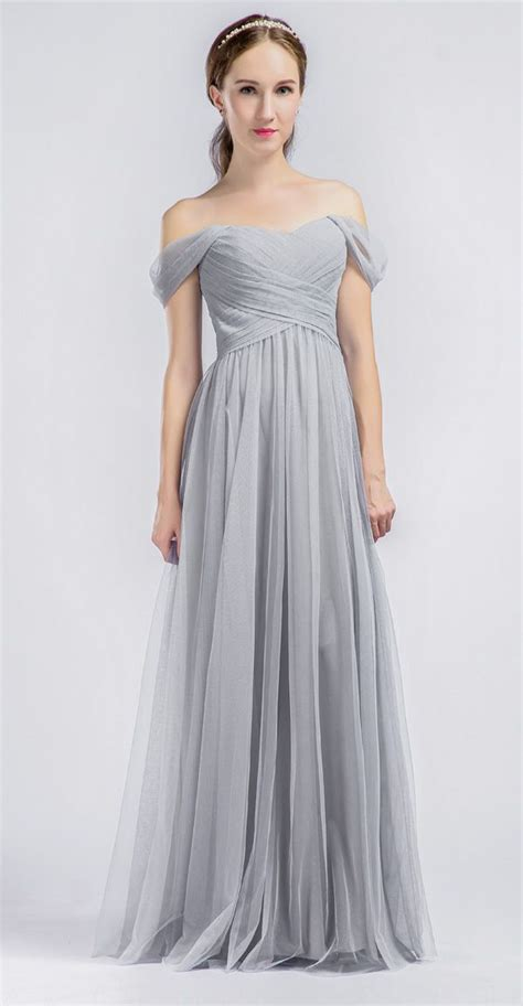 light grey bridesmaid dresses long best 25 light grey bridesmaid dresses ideas on pinterest