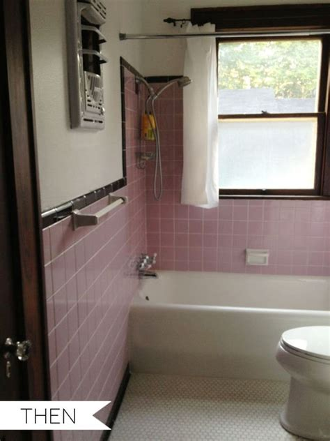 pink tile bathroom ideas everything old is new again pink tile in the bathroom then now apartment therapy