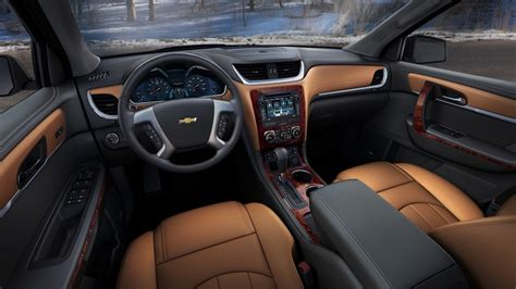 2017 Chevy Traverse Interior Options
