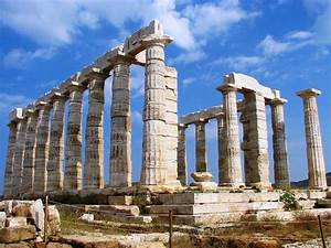 Temple Of Poseidon  Sounion  Greece