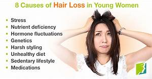 8 Causes Of Hair Loss In Young Women