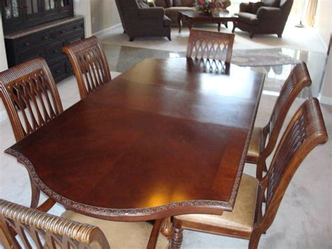 bernhardt dining room table and chairs for sale from