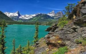 Wonderful, Green, Lake, Wide, Wallpaper, 339781, Wallpapers13, Com