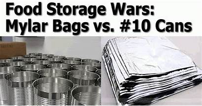 Cans Mylar Bags Type Storage Term Survivalist101