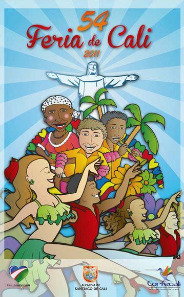 Festival furioso de dibujo, rosario (rosario, santa fe). GABOBOGOTANO: Afiches: Feria de Cali (No. 54)