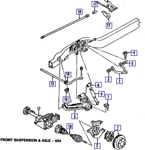 2004 Chevy Silverado Front End Part Diagram by Where Can I Find A Diagram Of The Front Suspension System