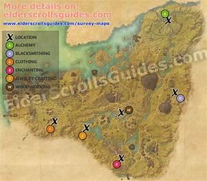 Malabal Tor Survey Report Map Elder Scrolls Online Guides