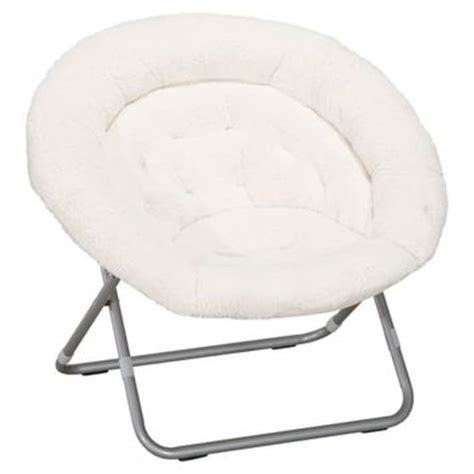 ivory sherpa faux fur hang a chair from pbteen