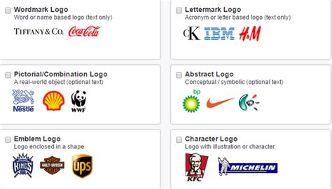How Many Types Of Logo Designs Are There And Which Logo