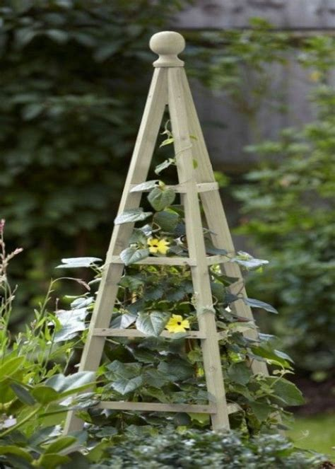 Wooden Garden Obelisk Climbing Plant Obelisks Climber