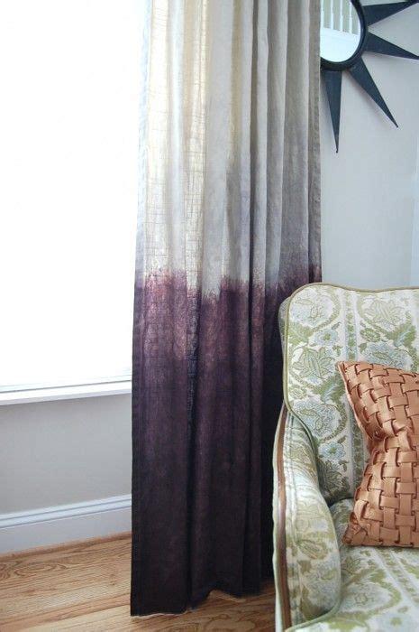 Dying Drapes - best 25 dip dye curtains ideas on dye
