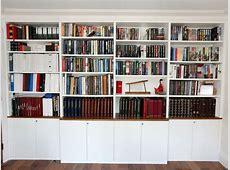 Bespoke built in bookshelves & bespoke bookcases London