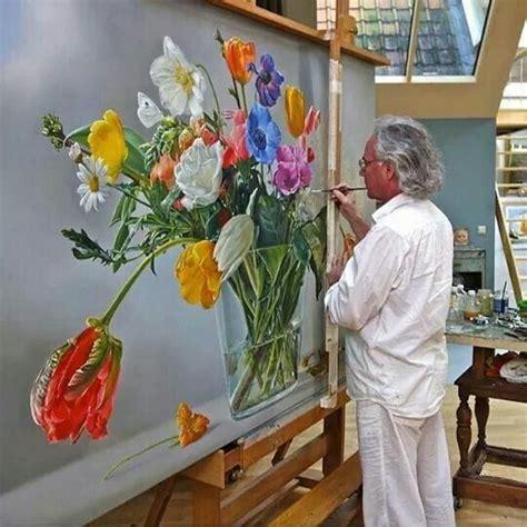 beste ideeen  tulp schilderij op pinterest