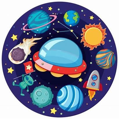 Solar System Clipart Clip Vector Galaxy Illustrations